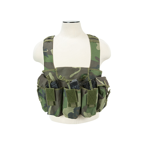 NcStar Multy Pouch Chest Rig For AK47 Saiga Rifles