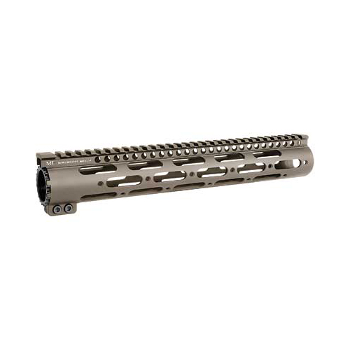 "Midwest SS Series 12"" FDE G2 AR15 Forend w/ Rails"