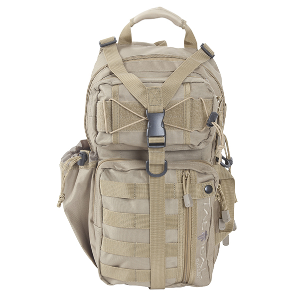 Allen Tactical Lite Force Tan MOLLE Sling Pack / 10855