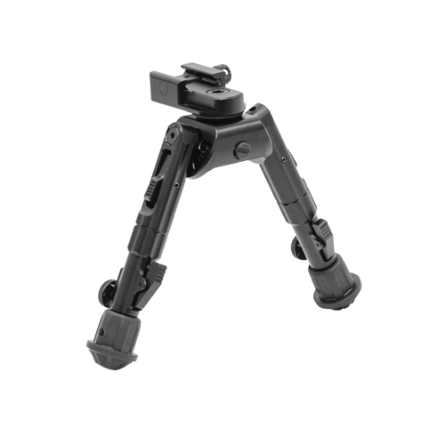 UTG Heavy Duty RECON 360 Compact Height Rail Mount Swivel Bipod