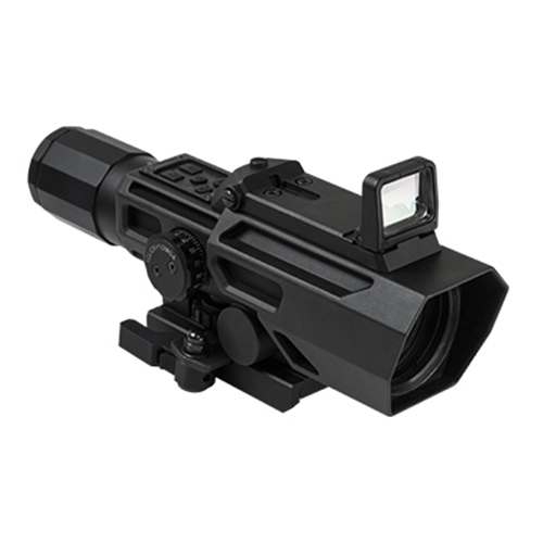 VISM ADO 3-9x42 Quick Detach Scope + Flip Up Red Dot Sight