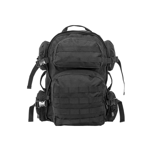 NcStar Tactical Molle Backpack w/ Storage For Hydration Bladder