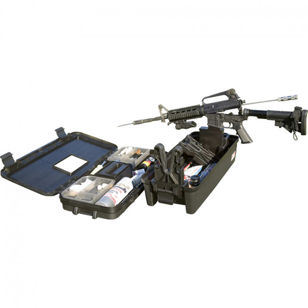 MTM Tactical 2 Piece Range Box w/ Support For AR15 Rifle