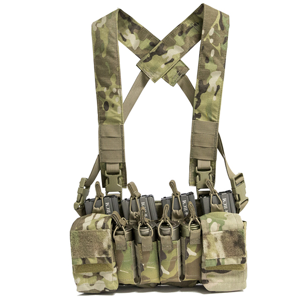 Haley Strategic D3CRX Multi-Cam Disruptive Environment Chest Rig
