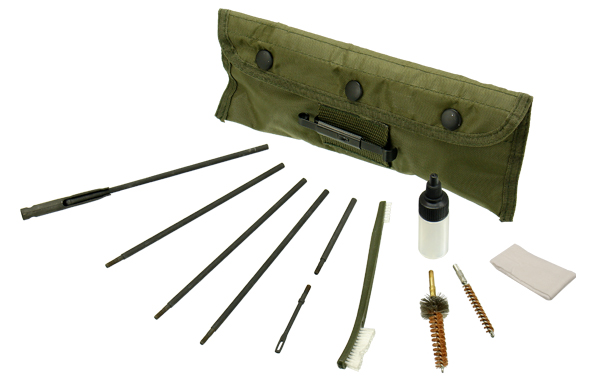 UTG AR15/M4 Military Spec .223 Rifle Cleaning Kit - Click Image to Close