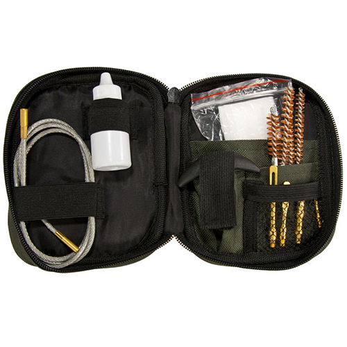 Barska Rifle Cleaning Kit with Flexible Rod and Pouch