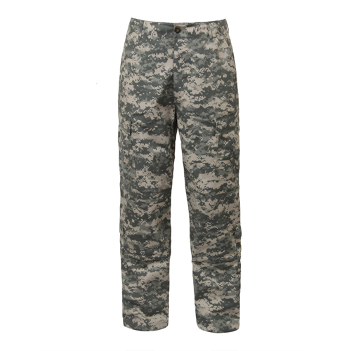 ARMY Combat Uniform Pants (ACU - Black - Woodland Digital Camo)