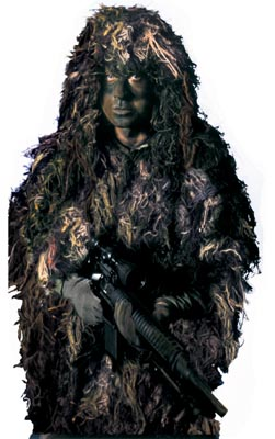 "Rothco ""BushRag"" The Complete Ghillie Suit Kit"