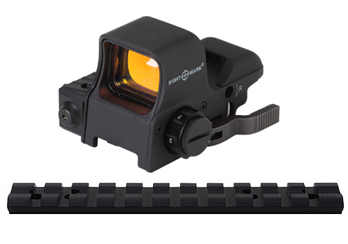 10/22 Combo #11 - Quick Detach Reflex Sight w/ Red Laser