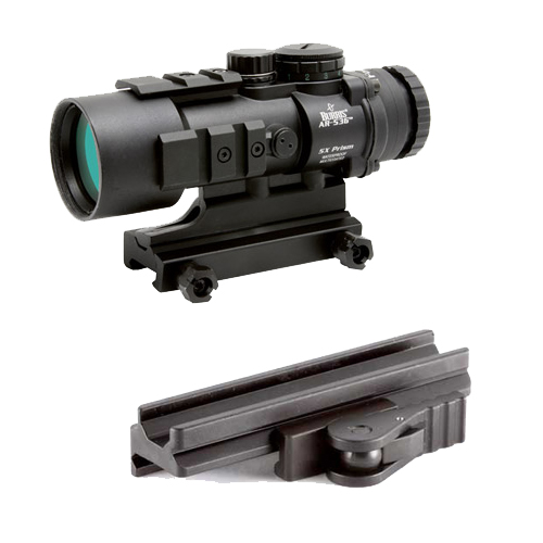 Burris Combo 1 - AR536 Scope + Quick Detach Picatinny Mount