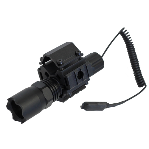 Shotgun Combo #1 - TriRail Mount + 160 Lumens Strobe Flashlight - Click Image to Close