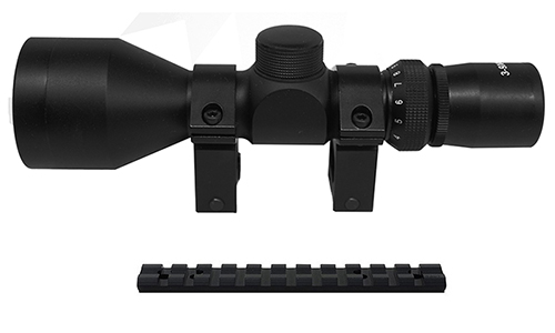 10/22 Combo #20 - Tactical 3-9x40 Scope + Rings + Mount
