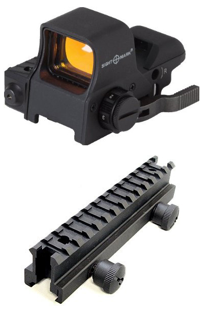 Ultra Shot QD Night Vision Compatible Reflex Sight + Mount