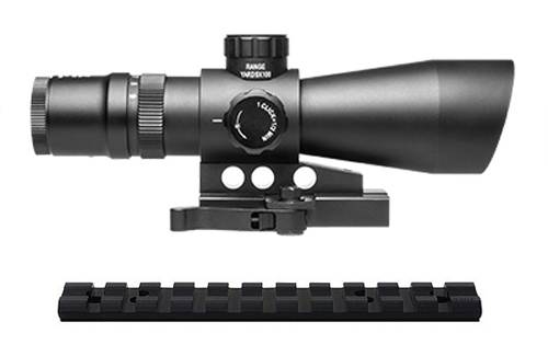 10/22 Combo #26 - NcSTAR Tactical 3-9x42 QD Scope + Rail Mount