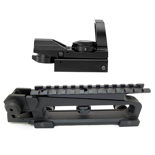 AR Combo #29 - Carry Handle + Rail Mount + Reflex Sight