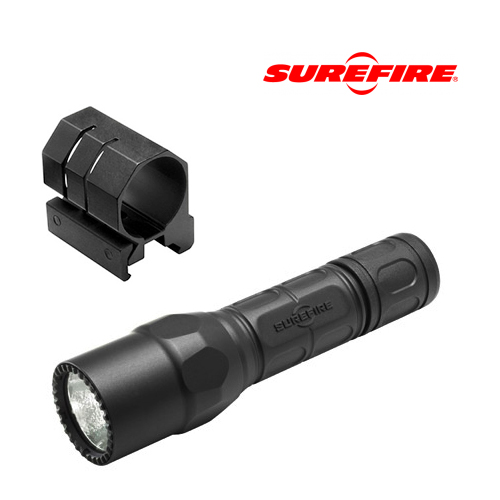 Surefire G2X Tactical 600 Lumen LED Flashlight + Picatinny Mount