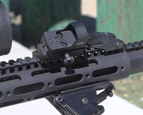 AR Combo #14 - Tactical Micro Dot Sight + Offset Rail Mount