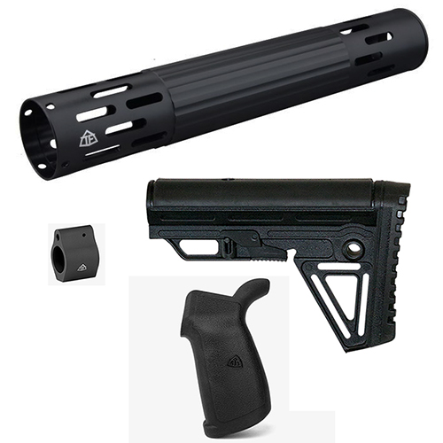 AR Combo #24 - AR15 Competition Kit w/ Handguard + Stock + Grip