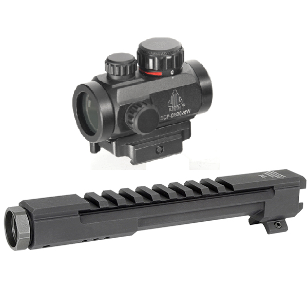 AK Combo #20 - UTG Micro Red Dot Sight + MI Gas Tube Scope Mount - Click Image to Close