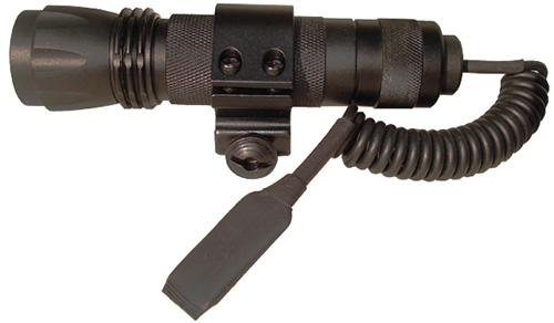 NcStar LED Tactical Flash Light w/ Cord Switch & Ring Mount