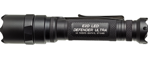 SureFire E2DU Defender Ultra Dual Output 5/500 Lumen Flashlight