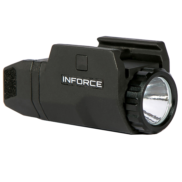 INFORCE APLc 200 Lumen Compact Picatinny Mount Pistol Flashlight