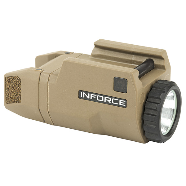 INFORCE APLc 200 Lumen FDE Compact Flashlight for GLOCK Pistols