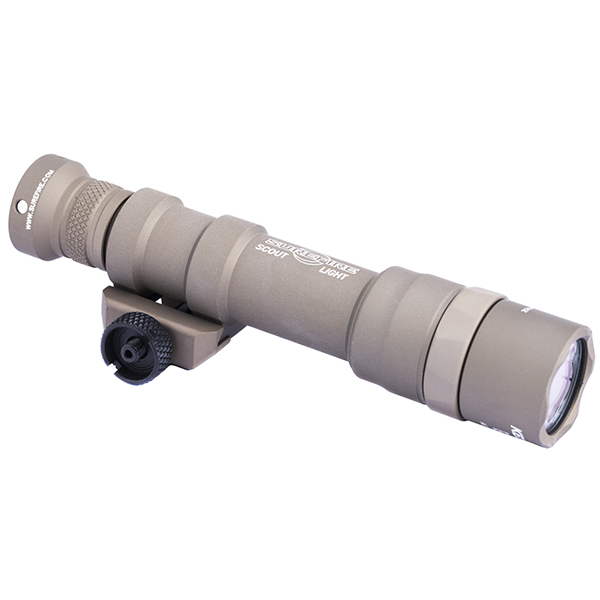 SUREFIRE M600DF SCOUT Tan 1500 Lumen Rechargeable Weapon Light