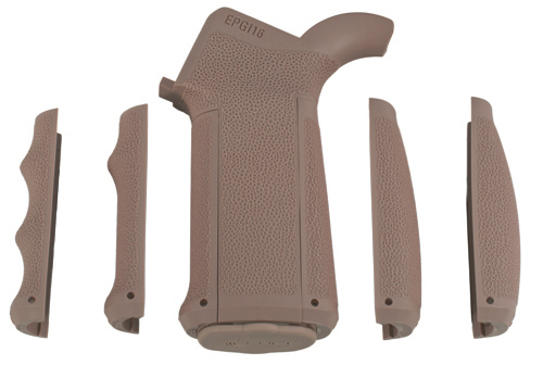 Made in USA - MFT TAN Color Modular AR15 M4 Pistol Grip Kit
