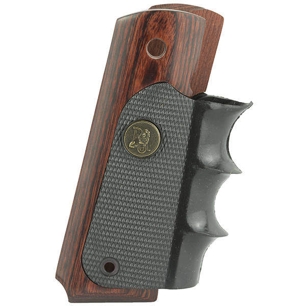 Pachmayr American Legend Rubber w/ Walnut Panel COLT 1911 Grips