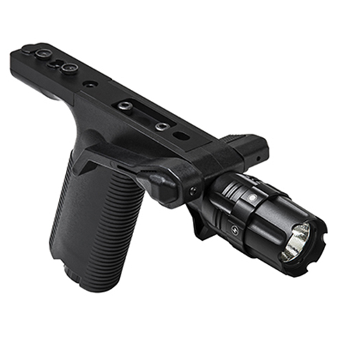 VISM Tactical Vertical Grip With LED Flashlight + KeyMod Mount