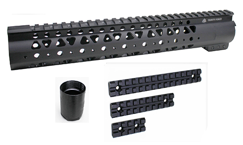 "Trinity 12"" Length Free Float AR15 Handguard w/ Picatinny Rails"