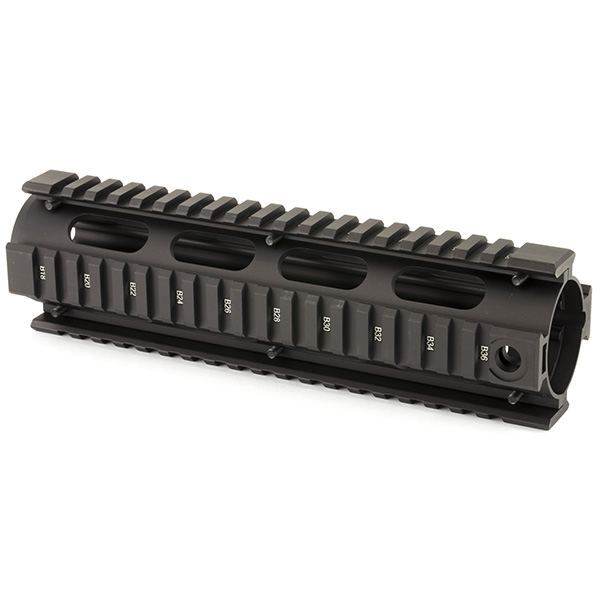 "Made in USA - UTG AR308 M&P10 9"" Mid Length Quad Rail Handguard"