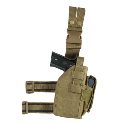 NcStar Drop Leg Universal Holster - Available in Multiple Colors
