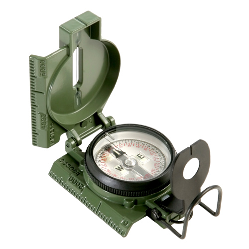 Cammenga Official US Miltary Tritium Lensatic Compass Clam Pack