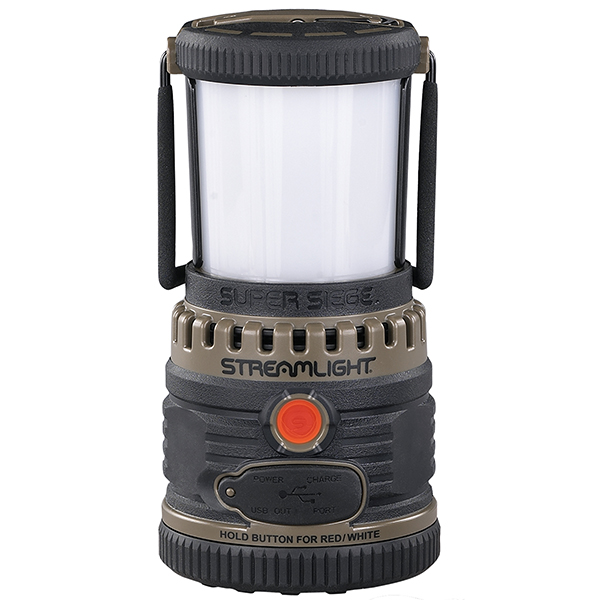 Streamlight Super Siege Coyote 1100 Lumen Rechargeable Lantern