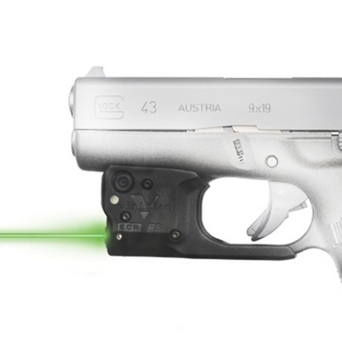 Green Lasers Reactor 5 Green Laser w/ECR Holster for Glock 43