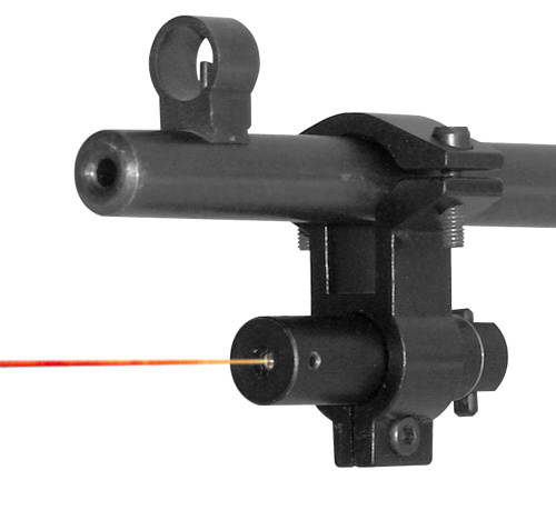 NcStar Red Laser w/ Universal Fit Barrel Clamp Mount