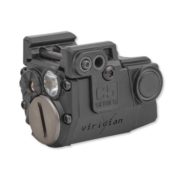 Viridian Tactical Red Laser w/ LED Light For Sub-Compact Pistols