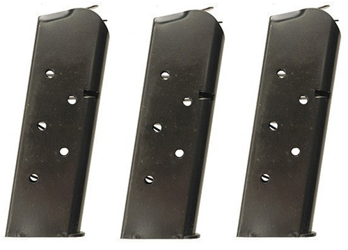3 Pack Kimber .45 Ultra 7rd Magazine Also Fits Colt Officer