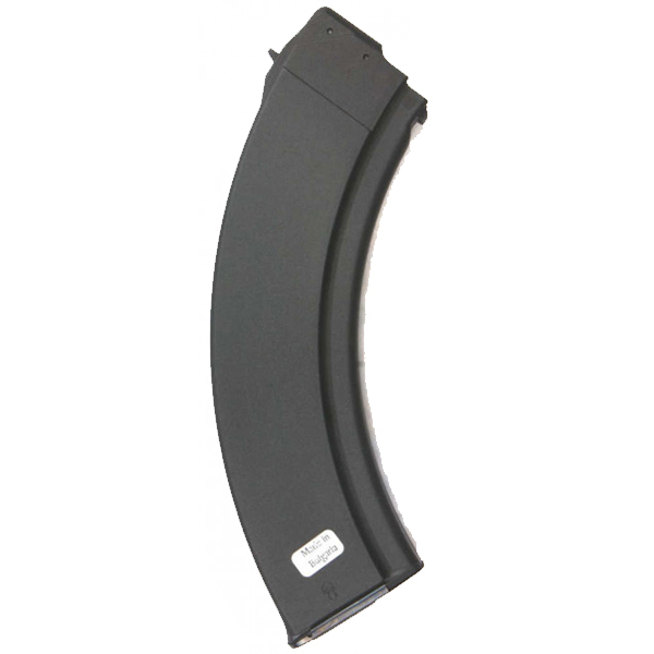 Authentic Bulgarian AK47 Synthetic 40rd Steel Lips Magazine - Click Image to Close