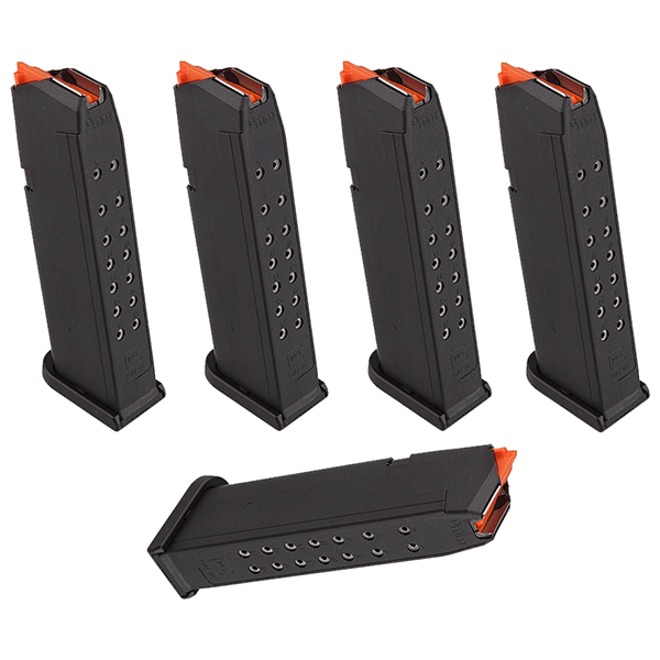 5 Pack - GLOCK GEN 5 Factory 9mm 17rd Pistol Magazines
