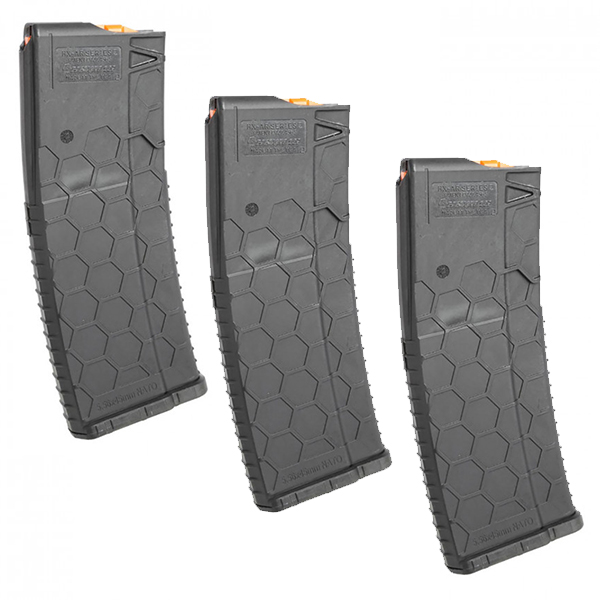 3 Pack - HEXMAG AR15 30 Round 5.56 Series 2 Magazine - Click Image to Close