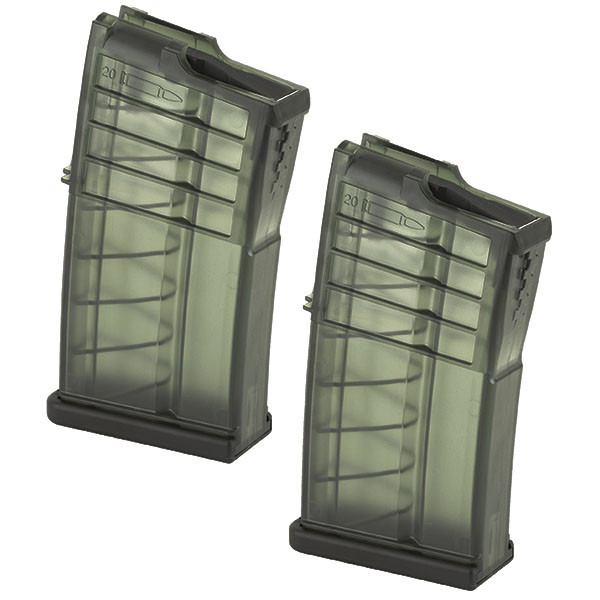 2 Pack - H&k OEM Factory .308 20rd MR762 Magazine
