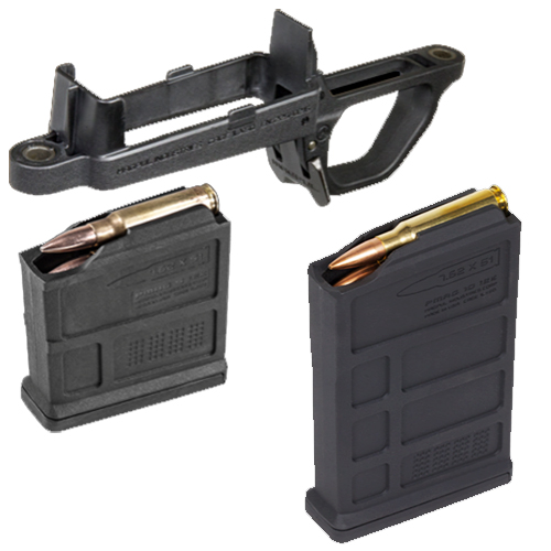 MAGPUL Magazine Well + 5rd Mag + 10rd Mag For Remington 700