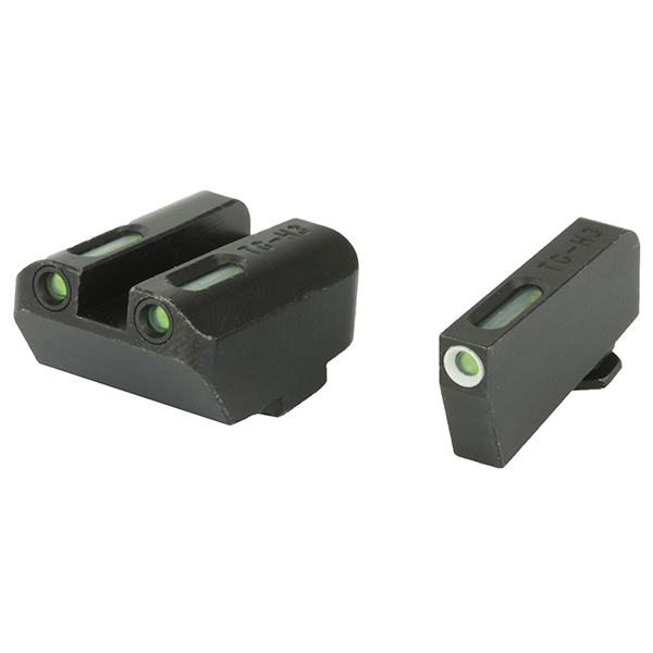 Truglo TFX Tritium + Fiberoptic GLOCK 9MM .40 Suppressor Sights
