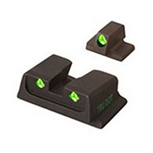Mako Group S&W - Tru-Dot Sights M&P F/S Comp&Sub-Comp Fixed Set
