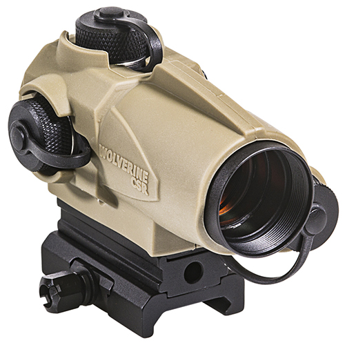 Sightmark Wolverine 1x23 CSR Red Dot Sight - Dark Earth Color