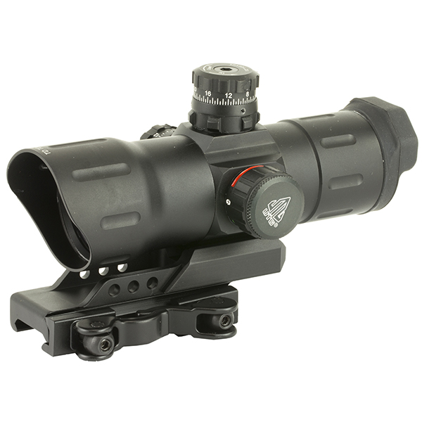 "UTG 6"" ITA Red Green CQB T-dot Sight + QD Offset Picatinny Mount"