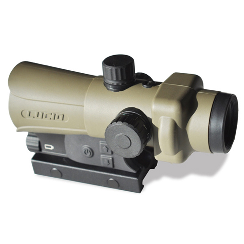 LUCID HD7 Tactical Red Dot Sight FDE Integral Picatinny Mount
